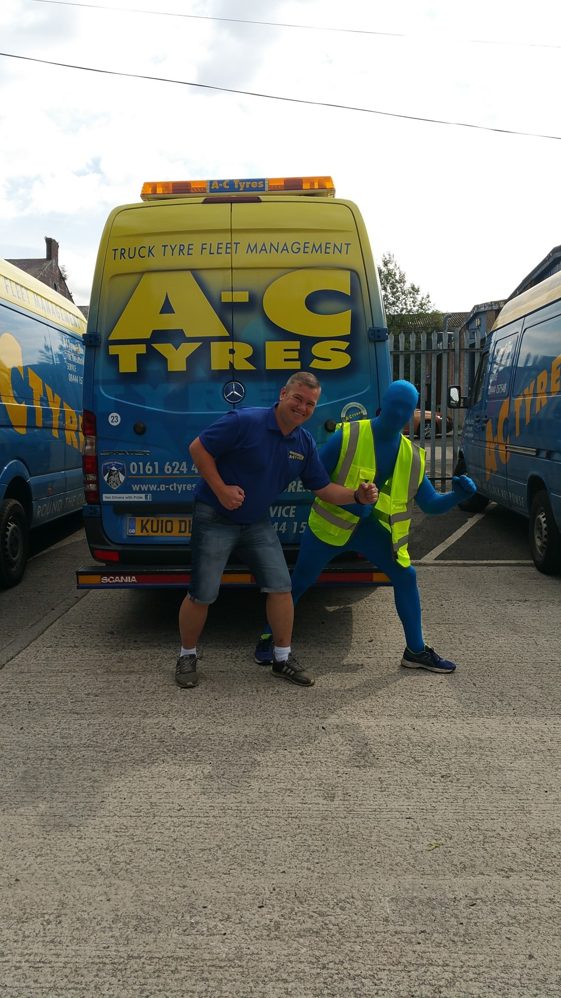 Wayne Williams at AC Tyres Oldham