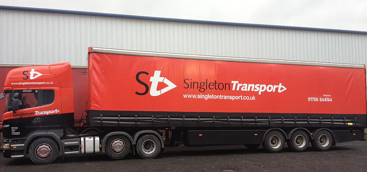 Singleton Transport Lorry