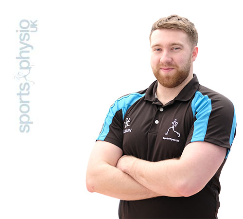 Chris Moulder sports therapist at Sports Physio UK Bury clinic